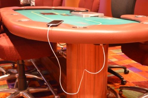 USB Ports At Each Table Cash Table Seat